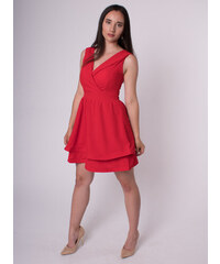 5a14408fff08 MODA ITALIA Dámske červené spoločenské šaty