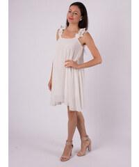 ITALIAN STYLE Elegantné voľné biele šaty 60aac638c33
