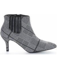 3395e8688b9 Elegantní Dámské boty Sergio Todzi černé a šedé