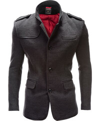 Ombre Clothing Pánsky kabát Augustino šedý de8b1d41f6a