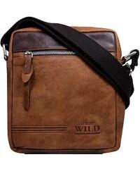 Wild Pánská kožená taška přes rameno (GT23) d8c54991db0