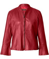 MISSY EMPIRE Biker bunda Minnie v červenom semišovom dizajne - Glami.sk cd79249997c