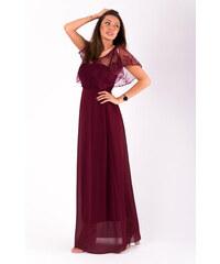 Adria Dámské dlouhé společenské šaty 7aea398b45