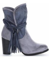 f63e14a72fc Dámské boty Lady Glory tmavě modré