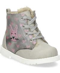 fa17c6b0ad6 Bubblegummers Dětská zimní kotníčková obuv se vzorem