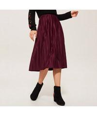 Reserved - Kalhotová sukně s vysokým sedem - Bordó - Glami.cz 08860e9080