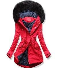 MODOVO Női steppelt kabát W71 piros - Glami.hu 1c913649b9