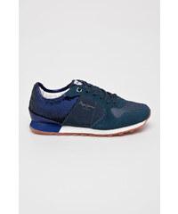 Tmavě modré dámské boty  30859706be2