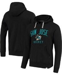 62b4f64605 Fanatics Branded San Jose Sharks pánska mikina s kapucňou black  Indestructible Pullover Hoodie