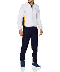 b87037672f Lacoste Sport WH9512 Ensemble de Sport Homme Blanc (Blanc/Marine-Pomelo Enk)