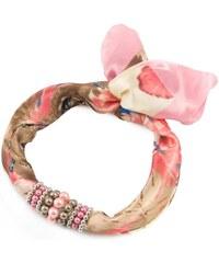 Bijoux Me Šátek s bižuterií Letuška - růžový 261cecc750