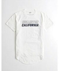 c9f66922080f Pánské tričko Hollister - bílé oboustranné