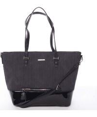 Originální dámská černá kabelka - David Jones Breanna černá 3cd6d690eba