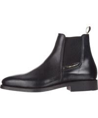 24c957e797f Gant James Kotníková obuv Černá