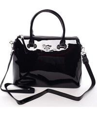 Elegantní lakovaná černá dámská kabelka - David Jones Belen černá 3e340af8cd6