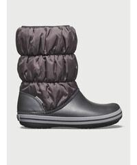 Crocs šedo-bílé sněhule Lodgepoint Pull-on Boot Oyster - Glami.cz 25ce7b0d4b