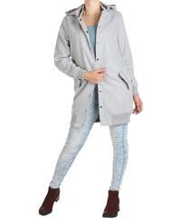 Dámský šedý kabát Rock Angel 082fd84885