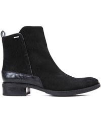 43e9ea26819 GEOX Dámske členkové topánky Mendi Np ABX Black D746SB-00022-C9999