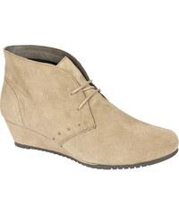 Scholl Dámske členkové topánky Lorelie Memory Cushion Beige F267931002 682fe3ad200
