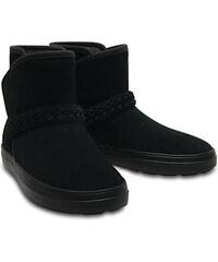 fa67bbb8d5d Crocs Dámské zimní boty LodgePoint Suede Bootie W Black 204798-001