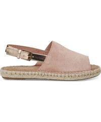 fcba4f74b78 TOMS Dámské sandále Bloom Suede Rose Gold Specchio Clara