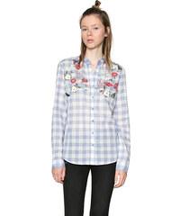 3c1f69f04b9 Desigual Dámská košile Cam Cabaceira 18SWCW65 5004