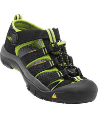 KEEN Dětské sandály Newport H2 Black Lime Green JUNIOR c9616f9ecc