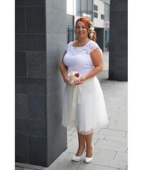 Bellazu CZ Tylová sukně Abagail Bellazu bílá 72772c236f