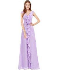 a94c1b8ac958 Ever Pretty krásné fialové šaty 8219