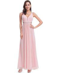 3ebd8f13a033 Ever Pretty Sexy růžové šaty s průstřihy 7081