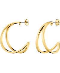 Calvin Klein Luxusné pozlátené náušnice Outline KJ6VJE100200 ad36e6c0dca
