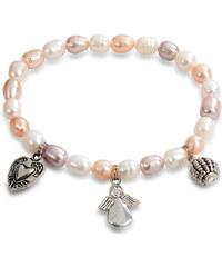 cde009a49 JwL Luxury Pearls Náramok z pravých perál v dvoch odtieňoch JL0317 ...