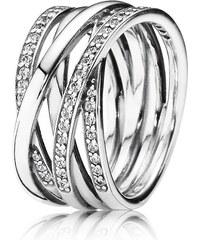 Pandora Stříbrný propletený prsten 190919CZ. 3 290 Kč. Skladem  700e41b53e3
