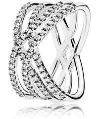 Pandora Oslnivý stříbrný prsten 196401CZ. 2 890 Kč. Skladem  6f46ca9d8d6