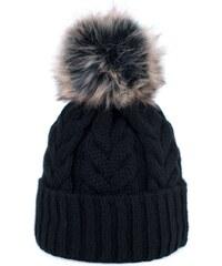 ArtOfPolo dámská zimní čepice Lea Černá 76f7d8470b