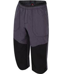 Hannah Pánské tříčtvrteční kalhoty Hug Graphite stretch limo 6672a68ff6