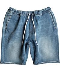 Quiksilver Pánske kraťasy Fonic Denim Fleece Short Blur EQYDS03066-BPTW 74599d6845