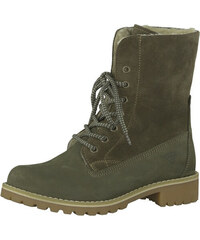 1924f3ac14c Tamaris Elegantní dámské kotníkové boty 1-1-26443-29-722 Olive
