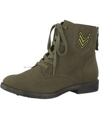 557d6d0aefd Tamaris Elegantní dámské kotníkové boty 1-1-25134-39-722 Olive