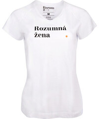 be3f4f55dd9e Rozum a cit Dámske tričko Rozumná žena