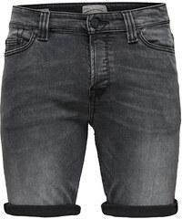 ONLY SONS Pánské kraťasy Ply Shorts Dark Grey Cr 8604 Grey Denim a053f102d4