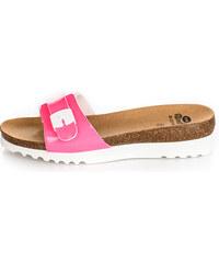 36a2756ea712 Scholl Dámské pantofle Ginni Bioprint Rose F271541609