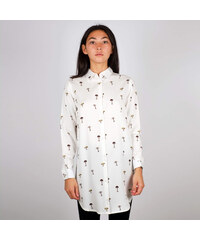ac22f4e73c9 Dedicated Košile Fredericia houby - bílá