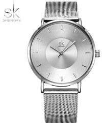 SK Shengke hodinky Ultra Slim K0059 L01 SILVER c2b695adc03