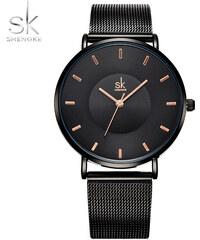 010684df31d SK Shengke hodinky Ultra Slim K0059 L03 BLACK