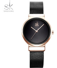 SK Shengke hodinky Elegance Black K0083 BLACK 3b7ea86b2e
