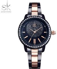 f0abdb77b78 SK Shengke hodinky Luxury Black K0075 L02 BLACK