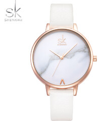 SK Shengke hodinky Marble White K0039 L04 WHITE daf3fa8fe7