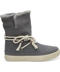 8e78674b25 Dámske šedé vysoké topánky TOMS Vista