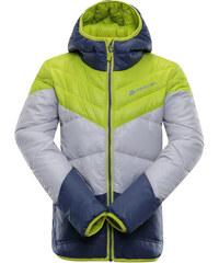 Dětská zimní bunda Alpine Pro SOPHIO 2 - zeleno-modrá a0cba62746